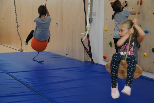 Bewegungslandschaft und Kinderwelt im SportQuadrat