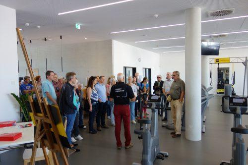 Tage der offenen Tür im neuen Sportvereinzentrum: Fitness, Gesundheit, Training, Kurse ausprobieren und kennenlernen